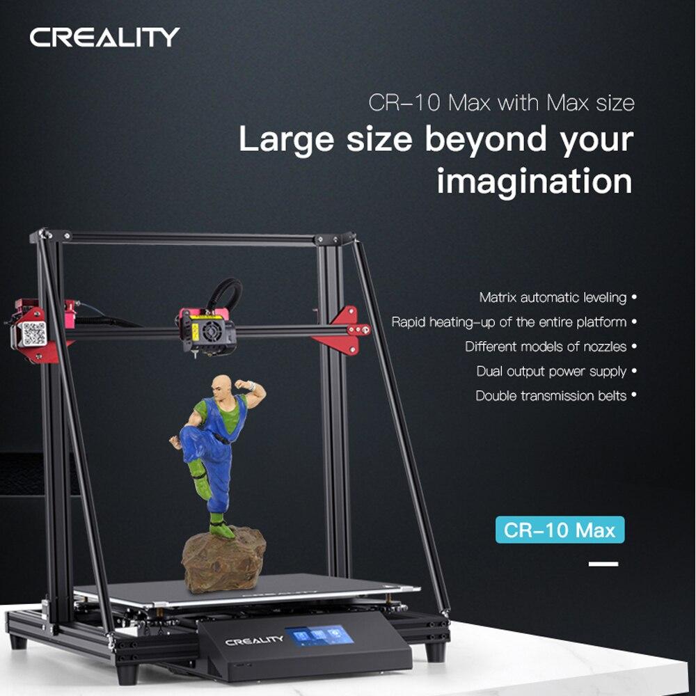 Creality FDM 0.1mm 17.7*17.7*18.5 pouces imprimante 3D 4.3 ''écran tactile pour la conception architecturale/décoration de la maison/Film/TV prop