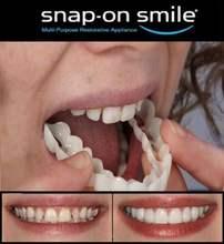 Косметика, стоматология, улыбка, мгновенная улыбка, комфорт, гибкая косметика для зубов, один размер, подходит для наиболее удобного ухода з...