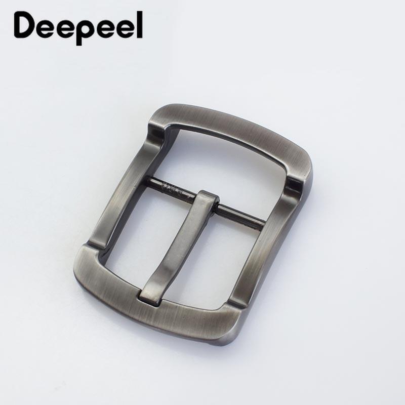 Deepeel 1pc Fashion Belt Buckles For Men Belt Head Metal Pin Buckle For Belt DIY Leathercraft Hardware DIY Jeans Accessories