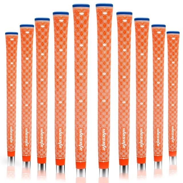 Fers de Golf antidérapants pour cordon, matériau Ultra léger, avec Absorption des chocs, 10 pièces/paquet, livraison gratuite