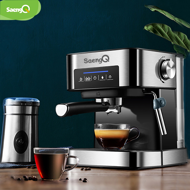 SaengQ cafetera eléctrica americana cafetera Espresso 1500ml de lujo de espuma de leche 220 V/110 V electrodoméstico - 2
