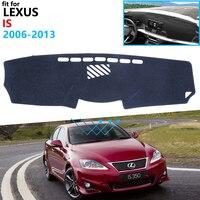 대시 보드 커버 lexus is 용 보호 패드 2006 ~ 2013 xe20 자동차 용품 대시 보드 차양 is250 300 250 300h 350 200d 220d|차량용 스티커|   -