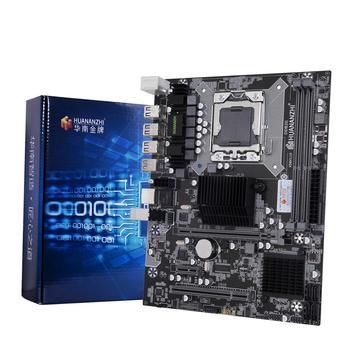 HUANANZHI X58 LGA1366 motherboard bundle CPU Intel Xeon X5670 2.93GHz CPU cooler RAM 8G(2*4G) REG ECC video card GTX750Ti 2G 2
