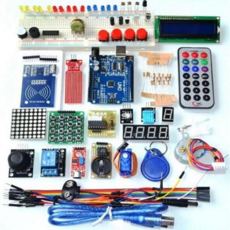 Newest Upgraded Version RFID Learning Starter Kit For Arduino R3 UNO R3 Learning Suits With Retail Box
