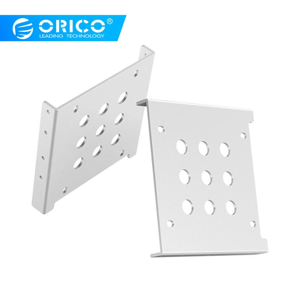 ORICO Aluminum 2.5 to 3.5 inch Hard Drive Caddy Hard Drive Holder Support 2.5 inch IDE / HDD / SSD For PC Hard Drive Enclosure