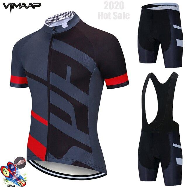 Equipe de verão conjunto camisa ciclismo roupas da bicicleta dos homens roupas ciclismo respirável manga curta terno maillot hombre 1