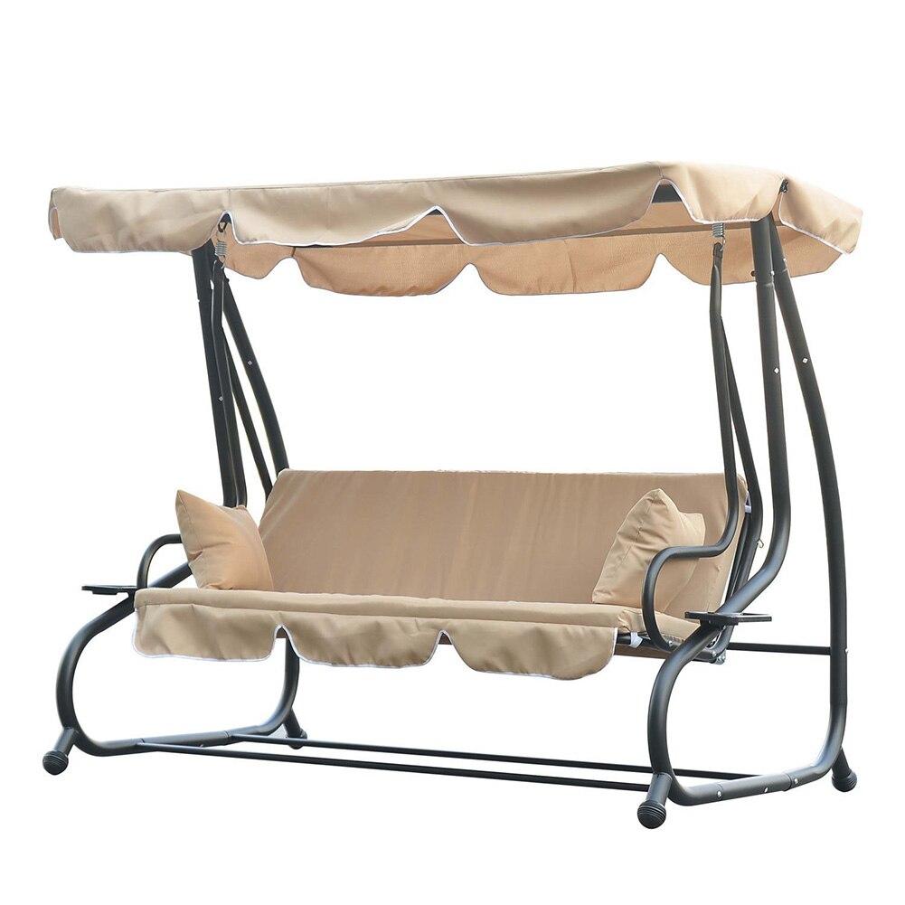 Waterproof UV Resistant Swing Hammock Canopy Summer Outdoor Indoor Garden Courtyard Tent Swing Top Cover Swing Accessories