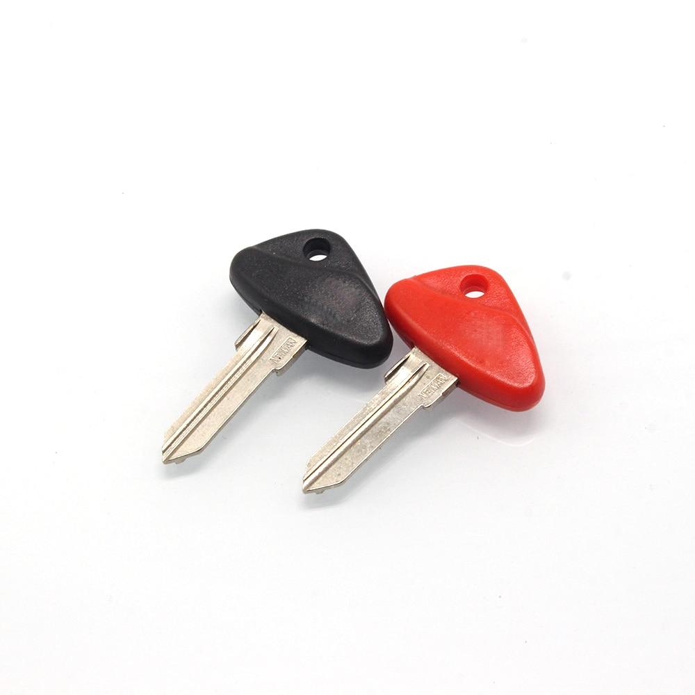 Motorcycle Blank Key Uncut Blade For BMW F650GS F700GS F800GS R1200GS K1200LT R1100RT R1150RT Motorbike Racer
