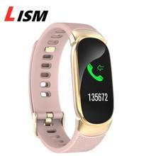Thể Thao Mới Chống Thấm Nước Đồng Hồ Thông Minh Smart Watch Nữ Vòng Tay Thông Minh Bluetooth Đo Nhịp Tim Theo Dõi Sức Khỏe Đồng Hồ Thông Minh Smartwatch