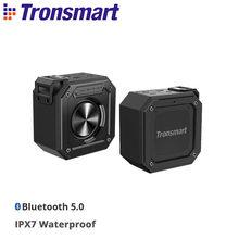 Tronsmart Element Groove (Force Mini) altavoz portátil Bluetooth 5,0 con resistencia al agua IPX7, bajo Superior, asistente de voz