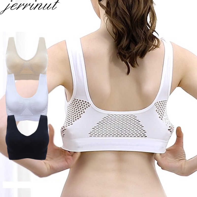 Jerrinut Bras For Women Plus Size Seamless Bra Cotton Breathable Underwear Wireless With Pads Push Up Bra Plus Size 5XL 6XL