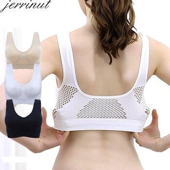 Jerrinut Bras For Women Plus Size Seamless Bra Cotton Breathable Underwear Wireless With Pads Push Up Bra Plus Size 5XL 6XL