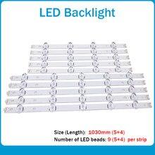 Nova 10 Pçs/set tira Retroiluminação LED para LG INNOTEK 50lb650v 50LB5300 50LF5800 DRT 3.0 polegada UM B 6916L-1978A 50 1979A 1982A 1983A