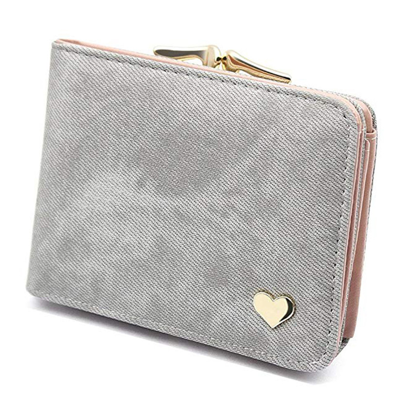 US $2.06 31% OFF|Wallets For Women New Short Multi function Folding Card Holder Vintage 2019 Money New Coin Purse Storage Porte Monnaie Femme|Coin
