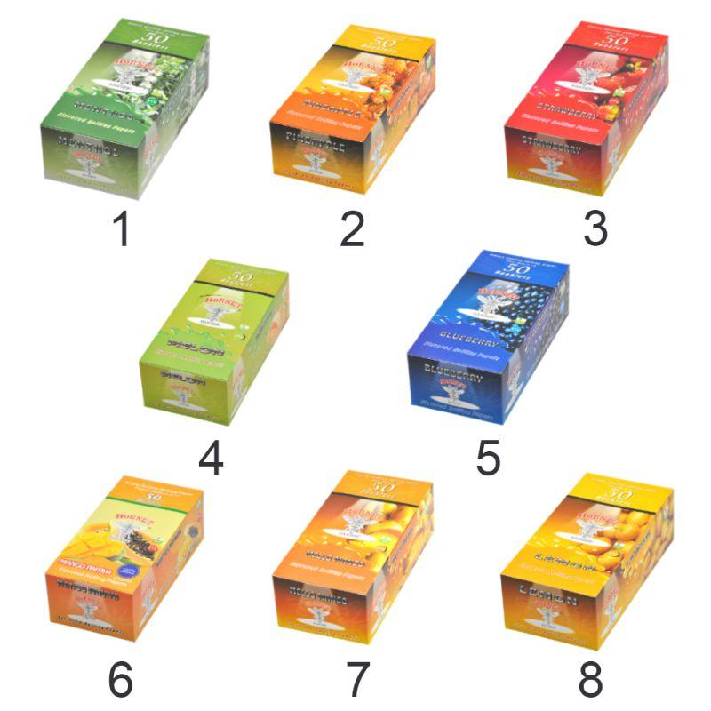 Бумага с фруктовым ароматом (2 маленькие упаковки), аксессуары для курения сигарет