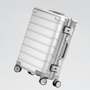 Image 2 - Xiaomi maleta de viaje con ruedas giratorias, equipaje de 20 pulgadas, con correa Y, varilla de tracción, aleación de aluminio Y magnesio de calidad superior