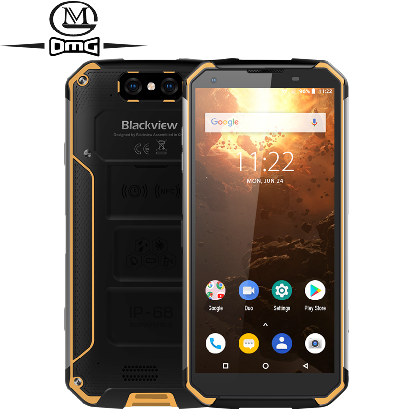 Blackview BV9500 Plus 10000mAh Helio P70 Octa Core 4G Smartphone IP68 Waterproof 5.7 FHD 4GB + 64GB Android 9.0 Mobile phone image