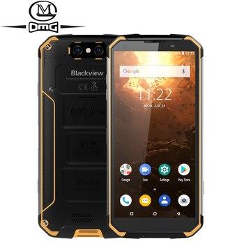 Перейти на Алиэкспресс и купить Blackview BV9500 Plus смартфон с 5,7-дюймовым дисплеем, восьмиядерным процессором Helio P70, ОЗУ 4 Гб, ПЗУ 64 ГБ, 10000 мАч, Android 9,0
