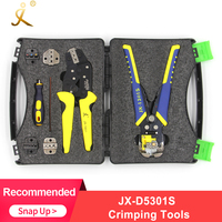 PARON JX D5301S Crimping Tool Professional Wire Crimper Multi tool Wire Stripper Cutting Pliers Cable Cutter Tools Set