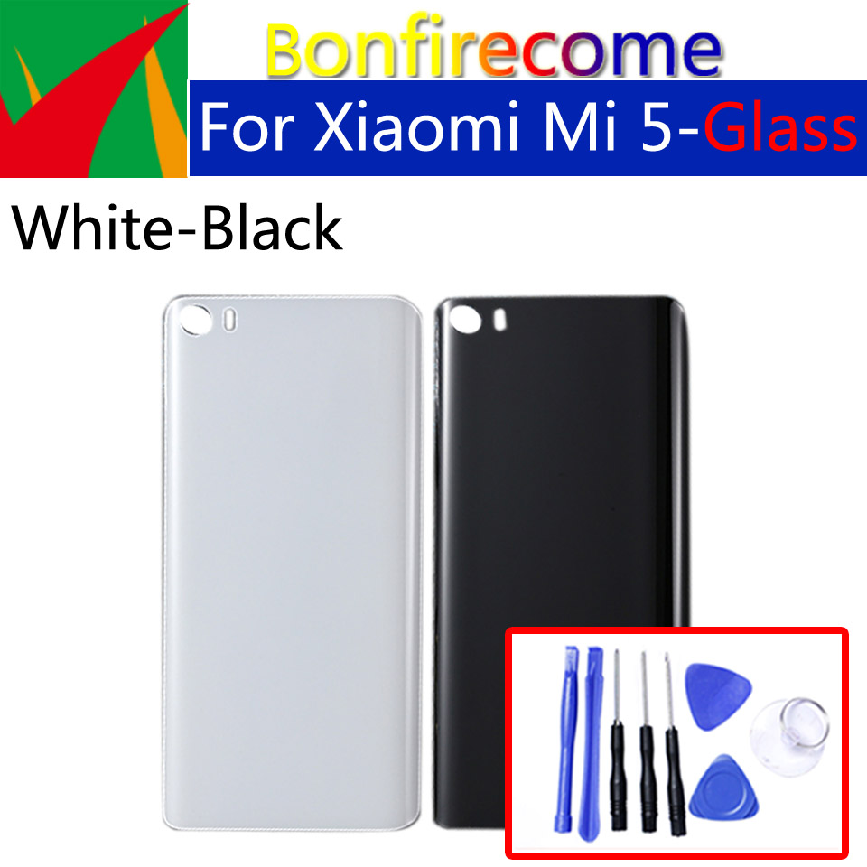 3D Glass <font><b>Battery</b></font> Back <font><b>Cover</b></font> For <font><b>Xiaomi</b></font> Mi5 <font><b>Mi</b></font> <font><b>5</b></font> M5 Back <font><b>Battery</b></font> Door Rear Housing <font><b>Cover</b></font> Case Chassis Shell replacement image