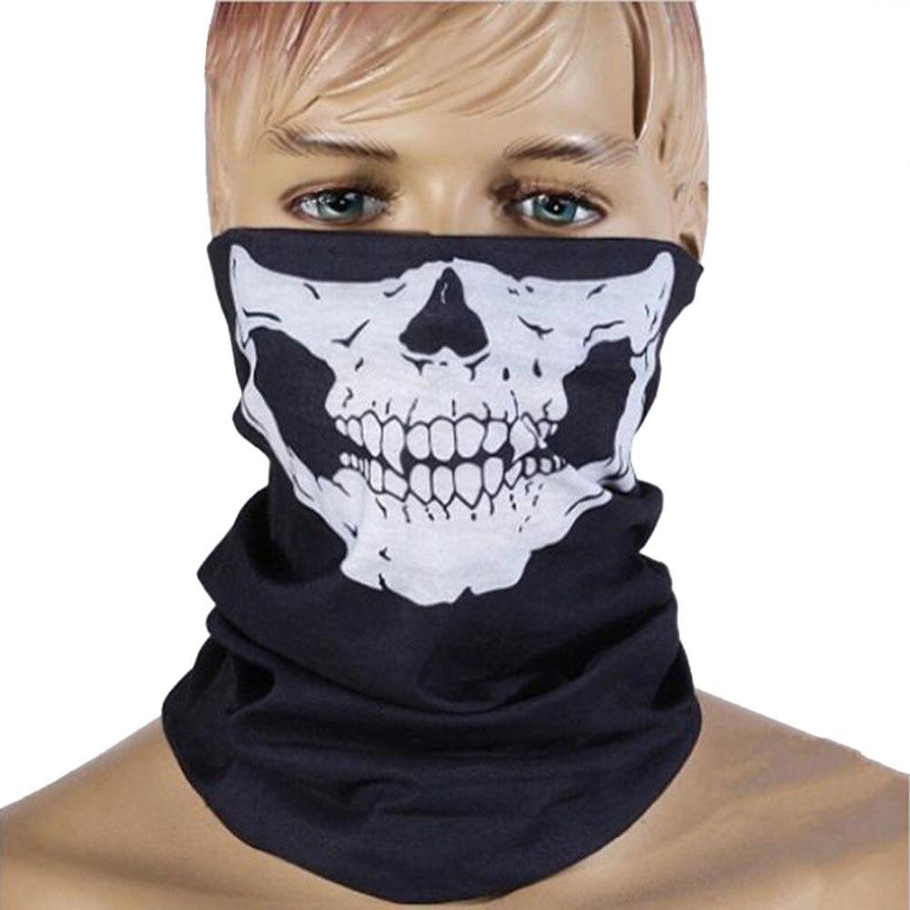 Máscara de boca de esqui da bicicleta cachecol mascarillas crânio windbreak sem costura boca máscara moda cachecol multifunções pescoço mais quente rosto capa 3