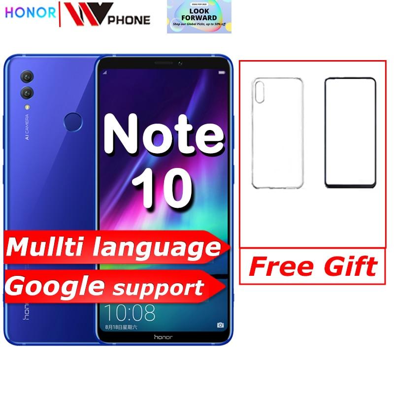 Фото. HuaweI Honor Note 10 Мобильный телефон Kirin 970 Восьмиядерный мобильный телефон Dual SIM 6,95 дюймо