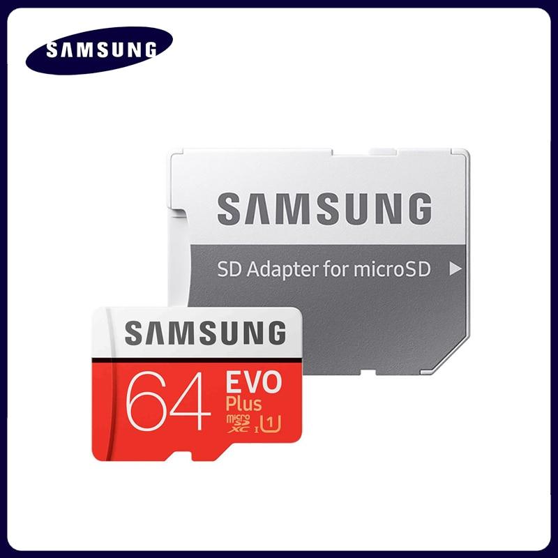 Карта памяти SAMSUNG Micro SD карта 256 ГБ 32 ГБ 64 Гб Microsd Micro SD 128 ГБ 512 ГБ SDHC SDXC класс EVO + C10 UHS TF Flash SD карты