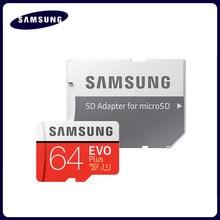SAMSUNG tarjeta de memoria tarjeta Micro SD de 32 GB 256G Microsd de 64GB Micro SD de 128GB 512G SDHC SDXC grado EVO + C10 UHS TF Flash tarjetas SD