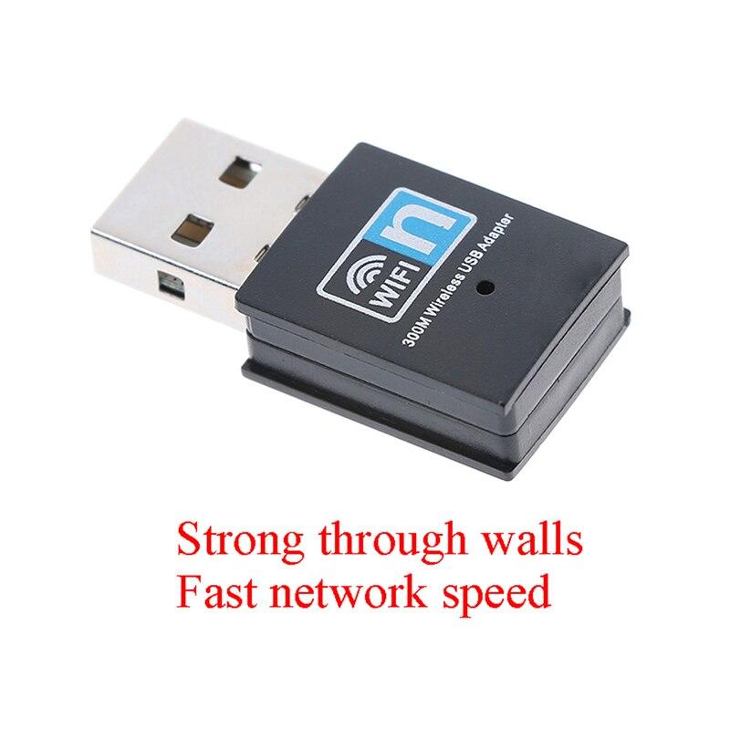 Mini 300M USB2.0 RTL8192 Wifi Dongle WiFi Adapter Wireless Wifi Dongle Network Card 802.11 N/g/b Wi Fi LAN Adapter