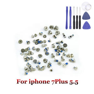 100%Perfect High Quality Complete Screw Set for iPhone 7 Plus Full Screw Inner Kits Replacement Parts+Free Assemble Tools