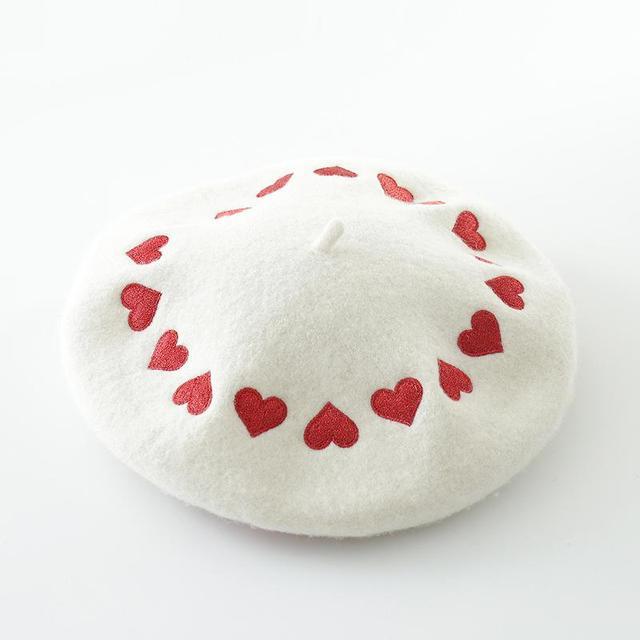 COKK Embroidered Love Heart...