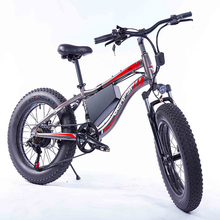 The best quality Fat Tires Electric bike with 36V 10Ah Removable Lithium-Ion Battery 20 inch 350W Motor 7 Speed Gears Shifter