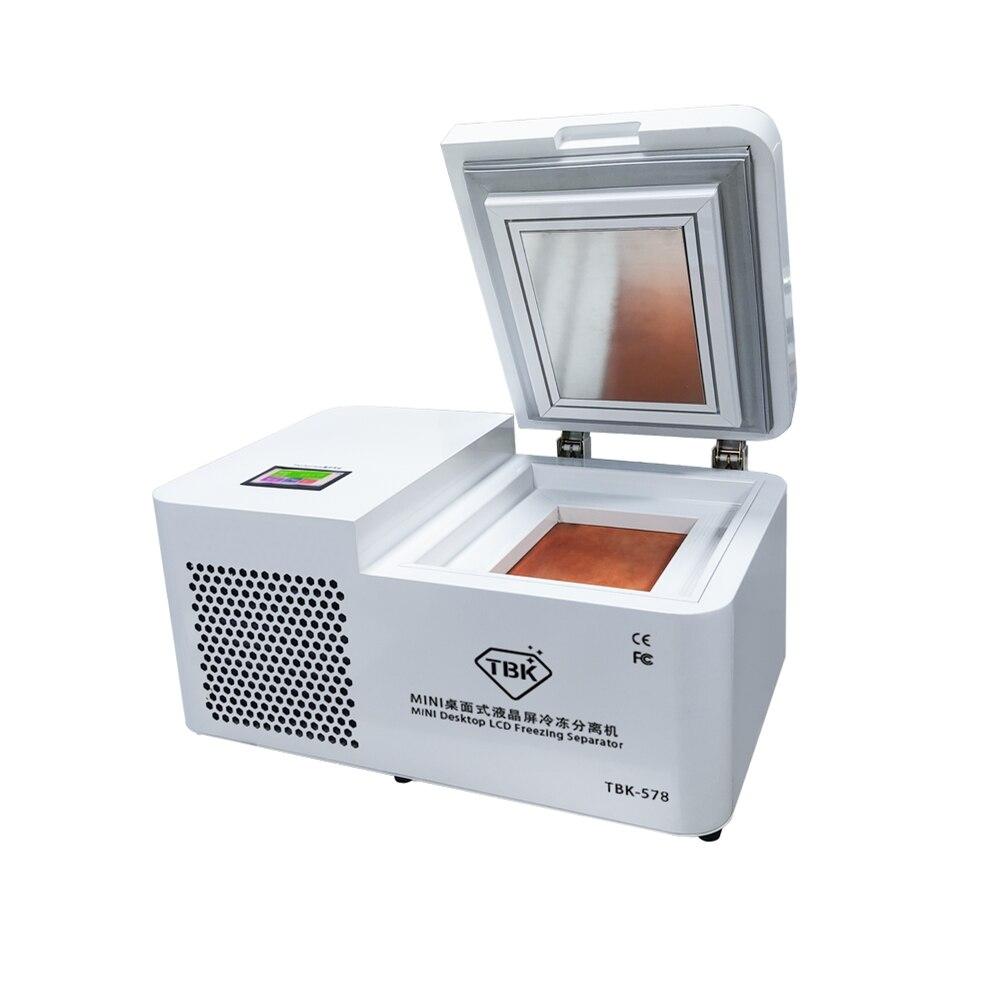 Tools : Mini desktop FS06 upgrade TBK 578  LCD freezing Separator machine For Samsung iPhone Edge Tablet Screen Repair Refurbishment