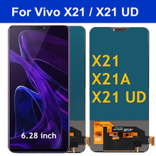 "6.28 ""Tft X21 Display Voor Vivo X21 Lcd Touch Screen Digitizer Voor Vivo X21 Ud Lcd X21A X 21 Screen Vervanging X21A(China)"