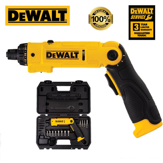 Dewalt Mini Electrical Screwdriver Set DCF008 Smart Cordless Electric Screwdrivers USB Rechargeable Handle with 45 Bit Set Drill 1
