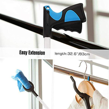 Foldable Grabber Extender Pick Up Grabber Garbage Clip Sanitation Tool Rubbish Pickup Foldable Clamp Suction Cup Claw Hand Plier