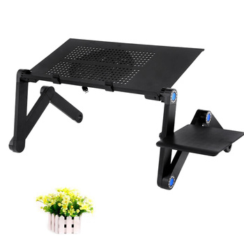 Adjustable Computer Table Folding Laptop Notebook Stand Lazy Aluminum Alloy Bed Table