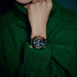 French classic famous chronograph watch men and women couple waterproof quartz watch top brand popular in Europe and America