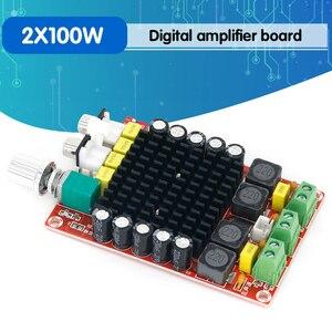 Image 1 - TDA7498 الفئة D مضخم رقمي عالي الطاقة 2x100 واط مكبرات الصوت مكبرات الصوت تيار مستمر 12 فولت 24 فولت