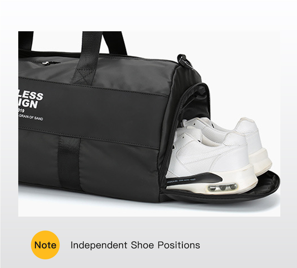 masculino esportes ao ar livre ginásio saco de bagagem moda