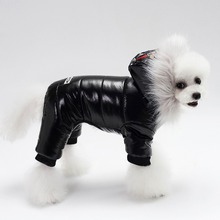 Parkas Dog-Coat Dog Outfit Snow Winter Warm Thickened Cotton