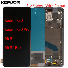 For Xiaomi Redmi K20 Pro Mi 9T Lcd Screen Tested AAA Lcd Display+Touch Screen With Frame Replacement For Redmi K20 Mi 9T Pro Lcd 10piece lot for xiaomi redmi k20 k20 pro case flip leather cases for xiaomi mi 9t mi 9t pro stand case pu leather cover