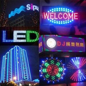Image 2 - Bande lumineuse RGB led, ruban de lumière adressable individuellement, 8x8, 16x16, 8x32, ws2812b, panneau de Pixels ws2812, 5V