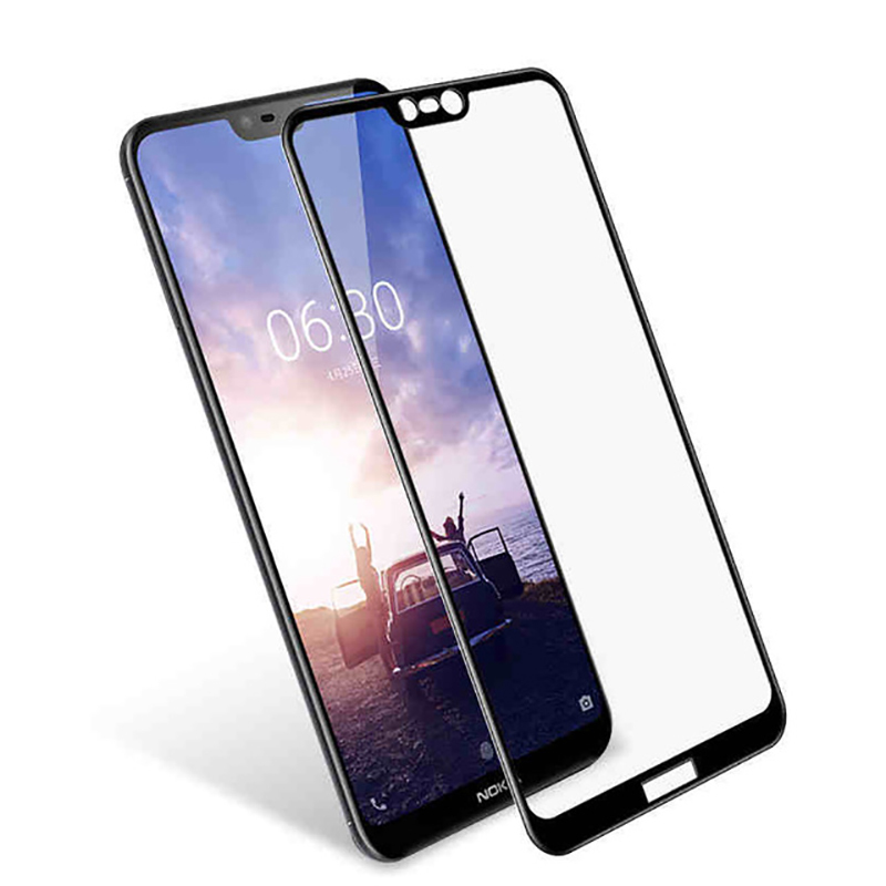 <font><b>Case</b></font> On For <font><b>Nokia</b></font> 2.1 3.1 5.1 6.1 7.1 <font><b>8.1</b></font> Full Cover Tempered Glass Safety Tremp Nokia2.1 Nokia3.1 Nokia5.1. Nokia6.1 Nokia7.1 image