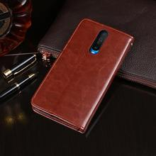 Para xiaomi redmi k30 caso flip carteira de couro negócios fundas caso telefone para redmi k30 5g capa acessórios