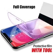 Full Soft Hydrogel Film For iphone 8 7 6 6s Plus Cover Screen Protector For iphone 11 Pro XS Max XR X Protective Film Not Glass барчуков игорь сергеевич физическая культура и физическая подготовка учебник