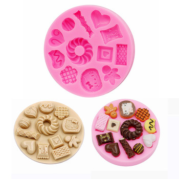 Candy Mold, Silicone Chocolate Mold, Small Square Candy Molds, Silicone Candy Moulds,Polymer Clay Molds,Biscuit mould