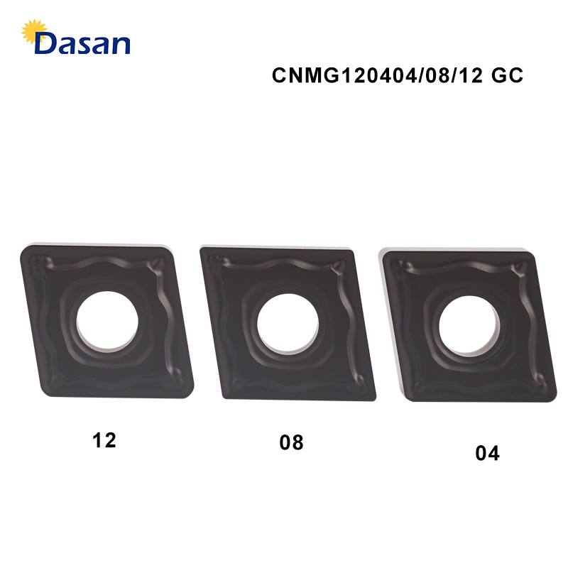 10PCS CNMG120412 GC Tungsten Carbide Inserts <font><b>CNMG120404</b></font> Turning Tool Hard Alloy Knife Blades Cutting Tool CNC Tools Lathe Cutter image