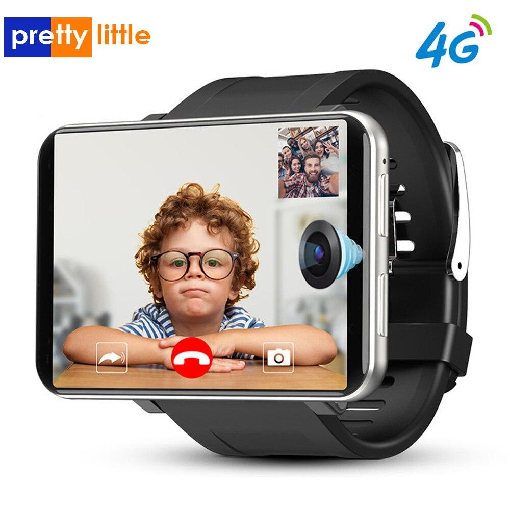 DM100 4G LTE Smart Watch Men Phone Android 7.1 3GB 32GB 5MP MT6739 2700mAh Bluetooth Fashionable Smartwatch PK AEKU I5 Plus DM99