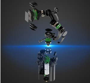 Image 4 - Snoppa atom 3軸ハンドヘルドジンバル折りたたみポケットサイズのiphone × 華為p30用移動プロヒーロー7 pk dji osmo om4携帯